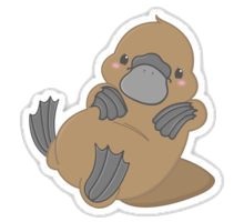 PlatypusCute - Platypus Emoji And Stickers Pack messages sticker-9