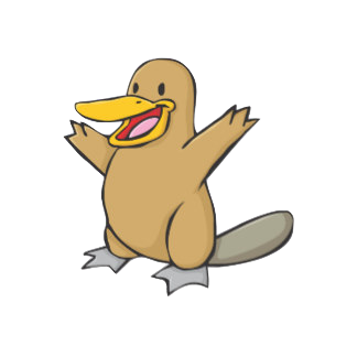 PlatypusCute - Platypus Emoji And Stickers Pack messages sticker-8