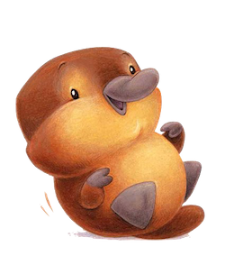 PlatypusCute - Platypus Emoji And Stickers Pack messages sticker-3