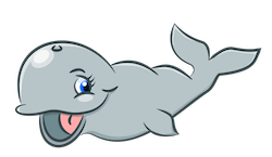 WhalesCute - Whales Emoji And Stickers Pack messages sticker-9