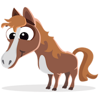 Horses Stickers messages sticker-2