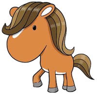 Horses Stickers messages sticker-11