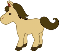 Horses Stickers messages sticker-7