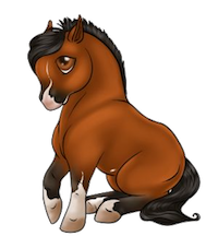 Horses Stickers messages sticker-1