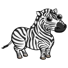 Zebras Stickers messages sticker-3