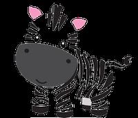 Zebras Stickers messages sticker-5
