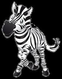 Zebras Stickers messages sticker-1