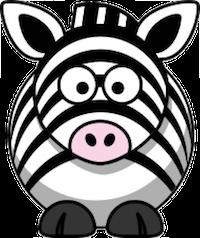Zebras Stickers messages sticker-7