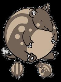 Tapirs Stickers messages sticker-9