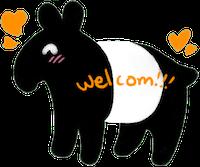 Tapirs Stickers messages sticker-10