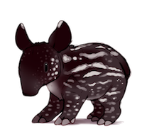 Tapirs Stickers messages sticker-3