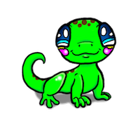 LizardMoji - Lizard Emoji And Stickers Pack messages sticker-1