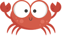 CrabMoji - Crab Stickers And Emoji Pack messages sticker-3