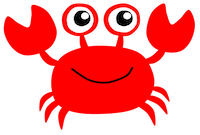 CrabMoji - Crab Stickers And Emoji Pack messages sticker-1