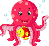 OctopusCute - Octopus Emoji And Stickers messages sticker-2