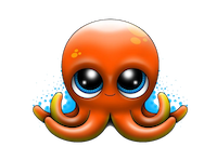 OctopusCute - Octopus Emoji And Stickers messages sticker-8