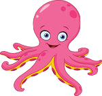 OctopusCute - Octopus Emoji And Stickers messages sticker-1