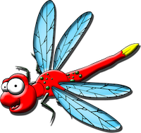 Dragonfly Stickers messages sticker-7