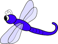 Dragonfly Stickers messages sticker-0