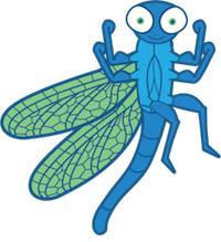 Dragonfly Stickers messages sticker-8