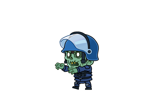 Lep's World Z - Zombie Games messages sticker-11