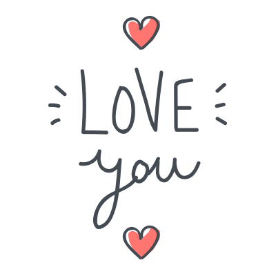 Love Emojis - Images for iMessage messages sticker-2