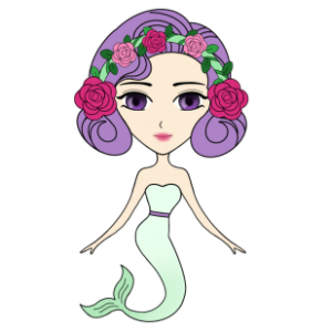 Funny Mermaids Stickers messages sticker-11