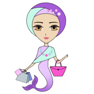 Funny Mermaids Stickers messages sticker-6