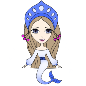 Funny Mermaids Stickers messages sticker-3
