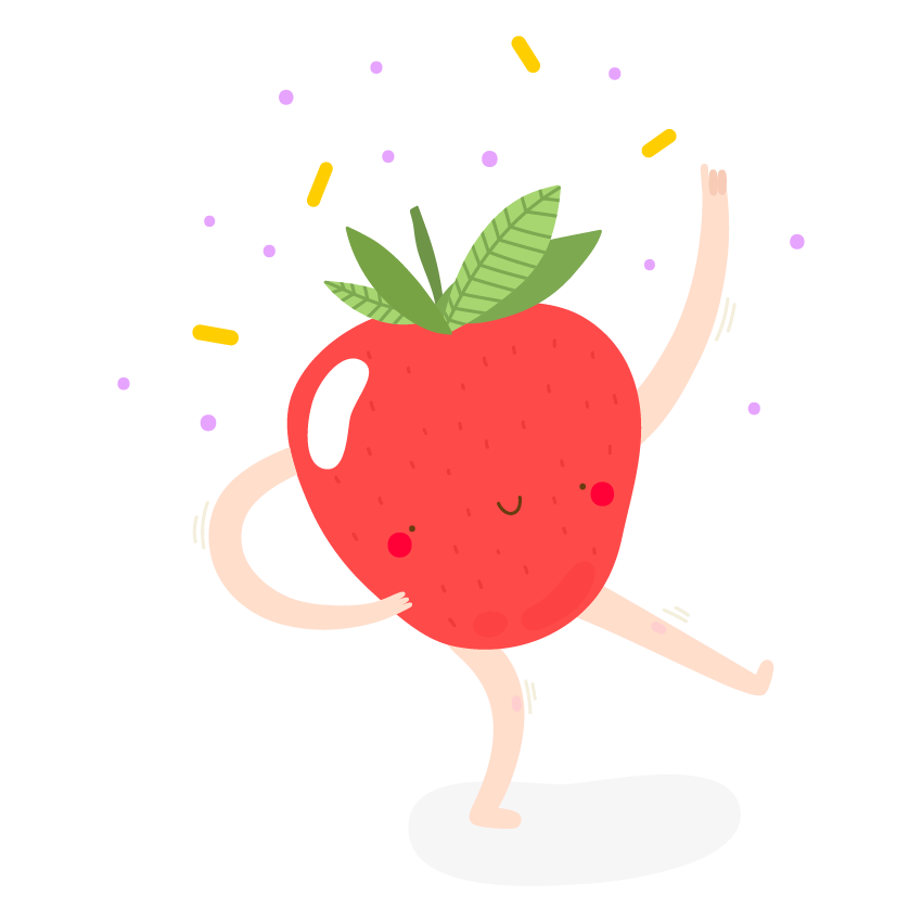 Dancing Fruits messages sticker-10