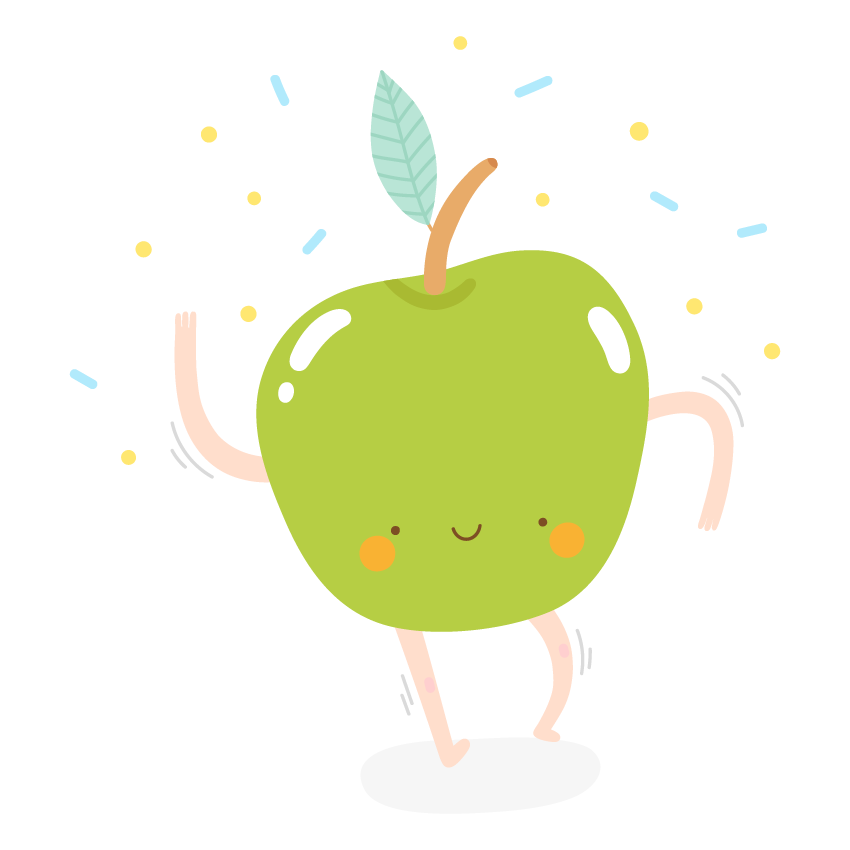Dancing Fruits messages sticker-2