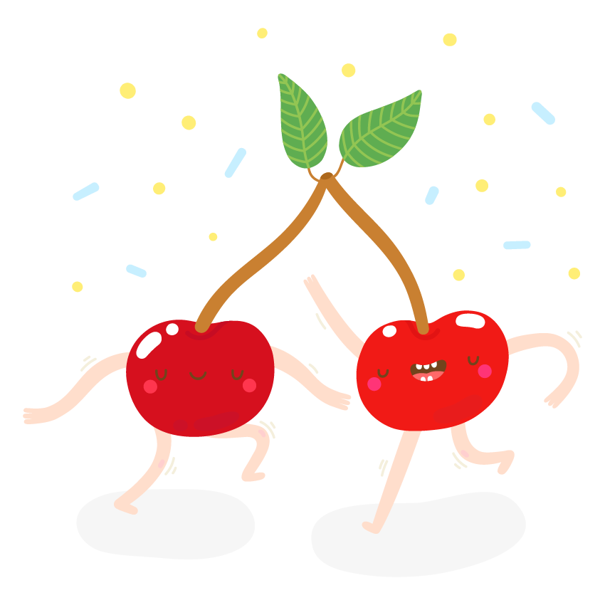 Dancing Fruits messages sticker-1