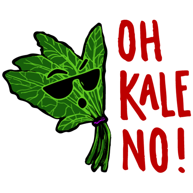 (RED) Food Puns messages sticker-0