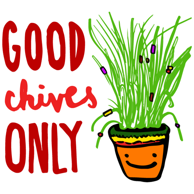 (RED) Food Puns messages sticker-7