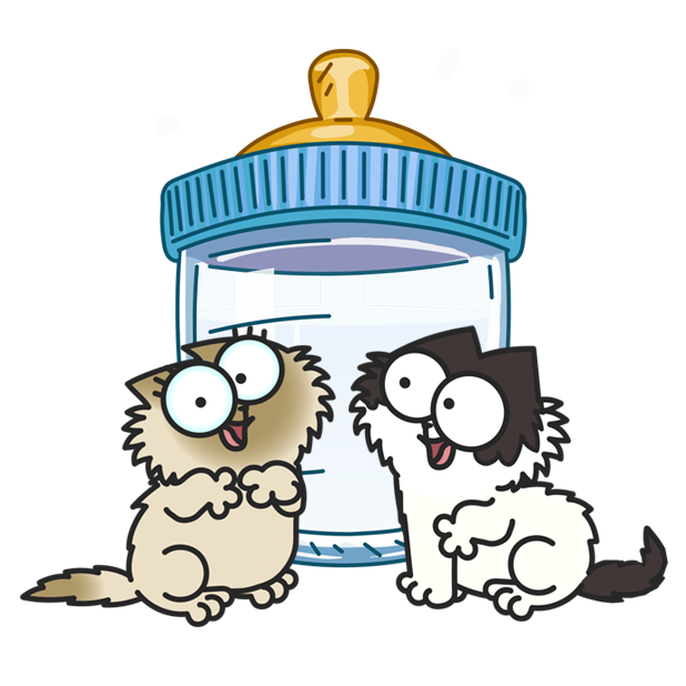 Simon's Cat - Crunch Time messages sticker-7