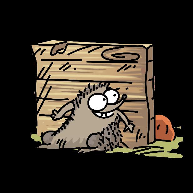 Simon's Cat - Crunch Time messages sticker-10
