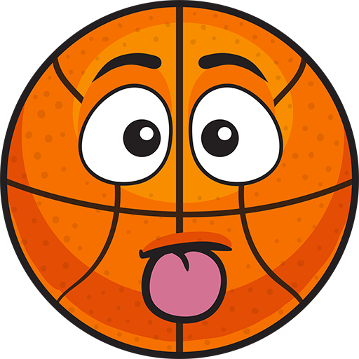 BasMoji - basketball emoji & stickers keyboard app messages sticker-8
