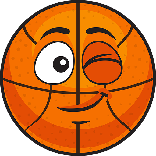 BasMoji - basketball emoji & stickers keyboard app messages sticker-5