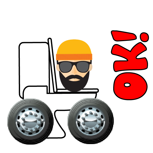 Toilet Time on Wheels-Hipster Camping messages sticker-7