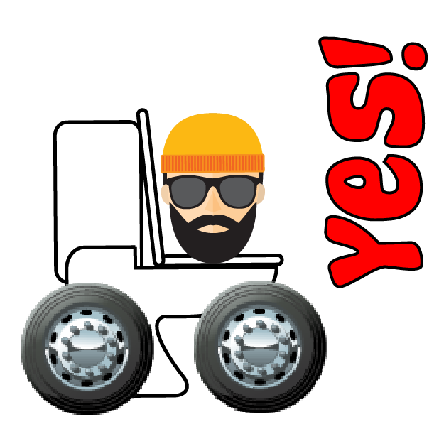 Toilet Time on Wheels-Hipster Camping messages sticker-8