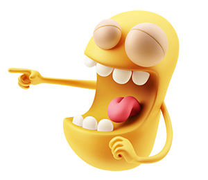 3D Emoji Text - Anime Cartoon messages sticker-8