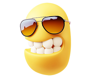 3D Emoji Text - Anime Cartoon messages sticker-3