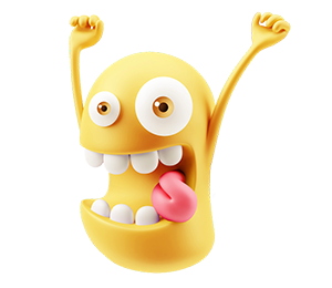 3D Emoji Text - Anime Cartoon messages sticker-10