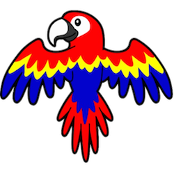 Parrot Stickers messages sticker-10