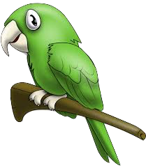 Parrot Stickers messages sticker-11