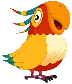 Parrot Stickers messages sticker-3