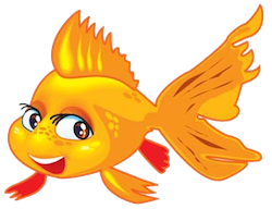 GoldFishMojis - GoldFish Emoji And Stickers messages sticker-8