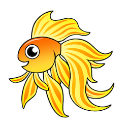 GoldFishMojis - GoldFish Emoji And Stickers messages sticker-6