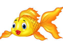 GoldFishMojis - GoldFish Emoji And Stickers messages sticker-2