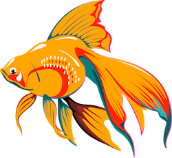 GoldFishMojis - GoldFish Emoji And Stickers messages sticker-10